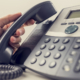 Answering new and old business calls